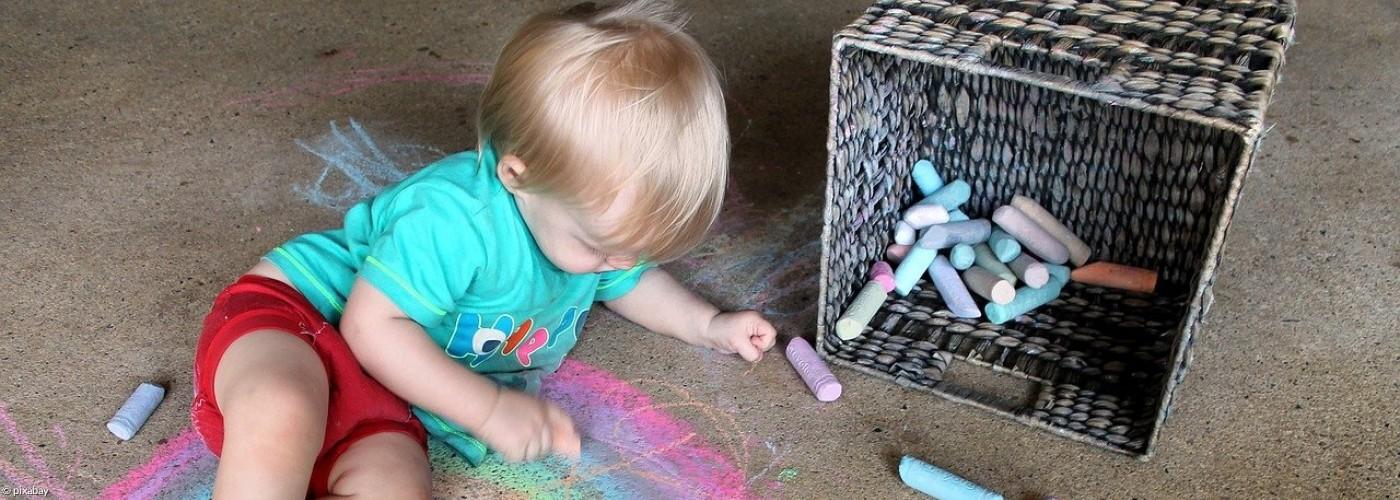Kindergarten Regenbogen Kind